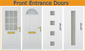 Thermopro, TOP and TOP prestige front entrance doors from Hormann